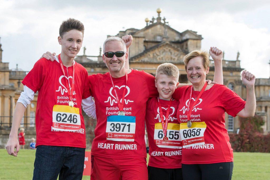 BHF-Blenheim-half-marathon-family