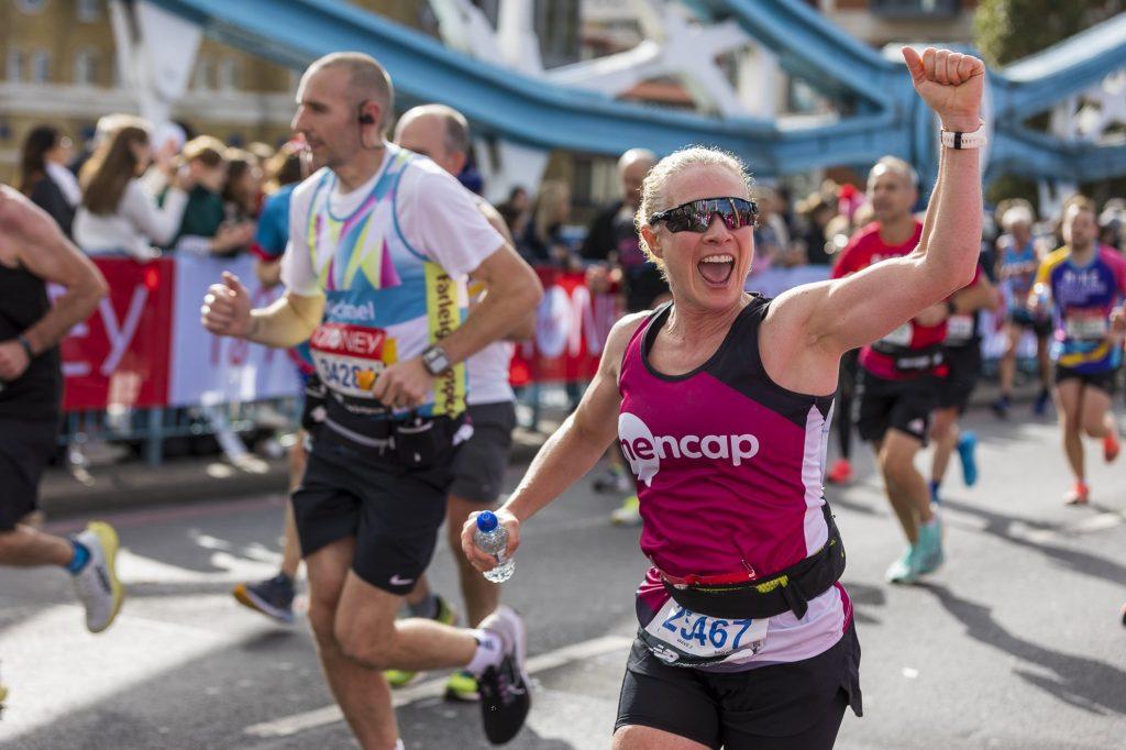 Mencap Runner London Marathon 2021